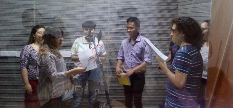 Taller de Ficción Radiofónica en las jornadas universitarias de radio (Paraná)