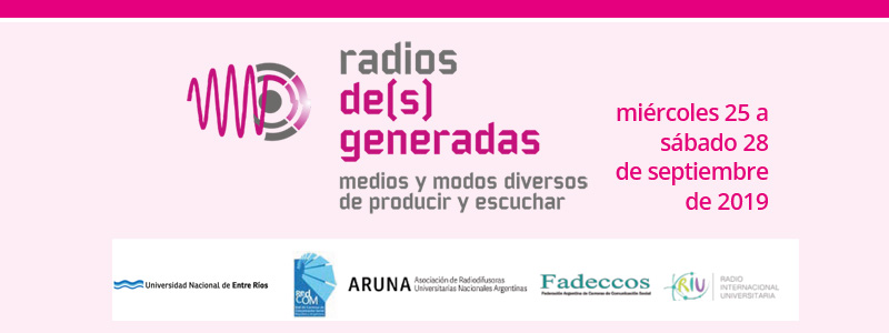 Jornadas «La Radio del Nuevo Siglo»