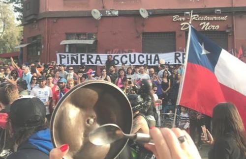 «Chile despertó»