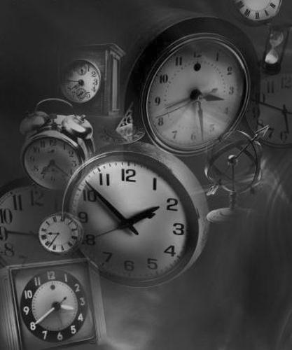 Tic tac, la espera (collage narrativo, creación semi-colectiva)