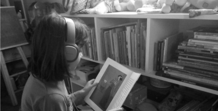 Narración de cuentos infantiles desde la voz y el sonido