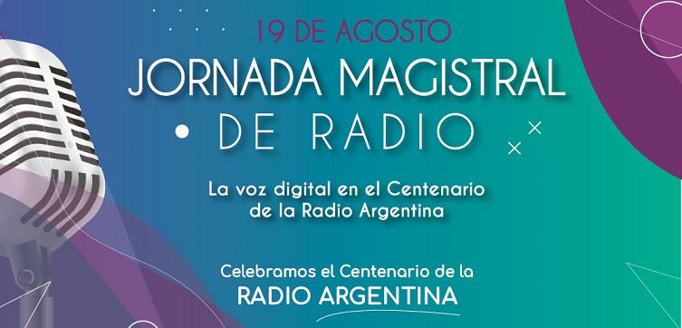 Jornada magistral de radio